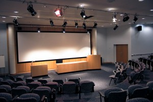 Lecture Theatre Audio Visual Install