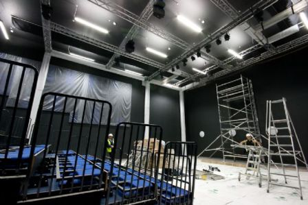 Theatre under construction