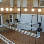 Redhouse Arts Centre motorised hoists
