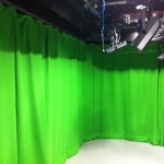 TV Studio stage curtains