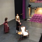 A period drama on a portable stage
