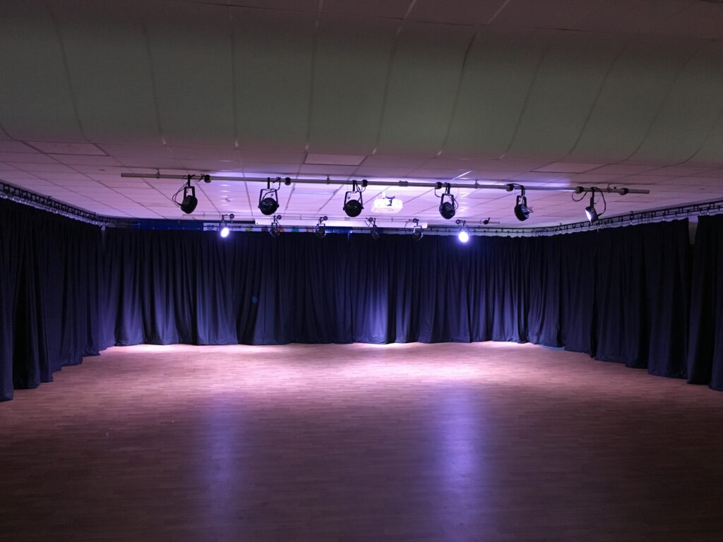 School Hall Drama Studio Stage Lighting and Theatre Systems Installation