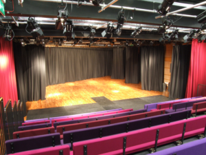 Stage Curtains and Track System Installation