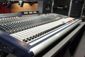 Theatre Sound System Installation Control Console