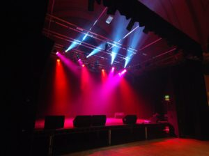 Stage Lighting Installation for The Met in Bury