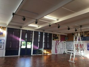 School Hall Stage Lighting Portable Appliance Testing