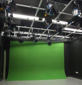 Studio and Green Screen Installation 920x960