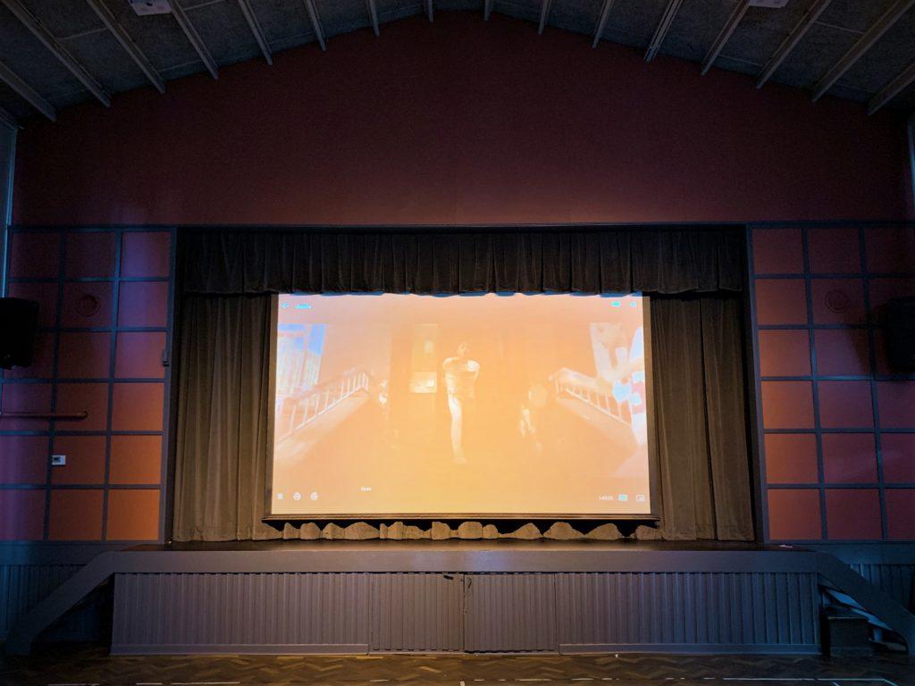 Gatley Church Projection Screen