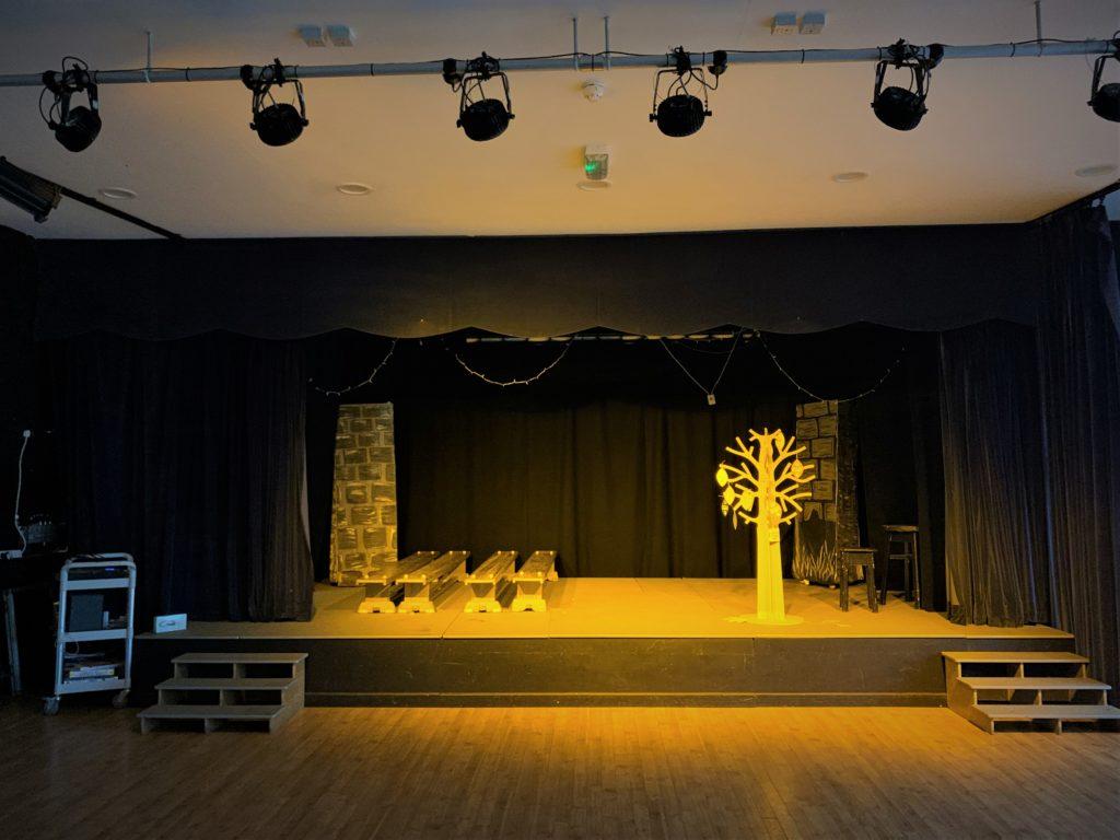 Greenbank Prep School LED Stage Lighting