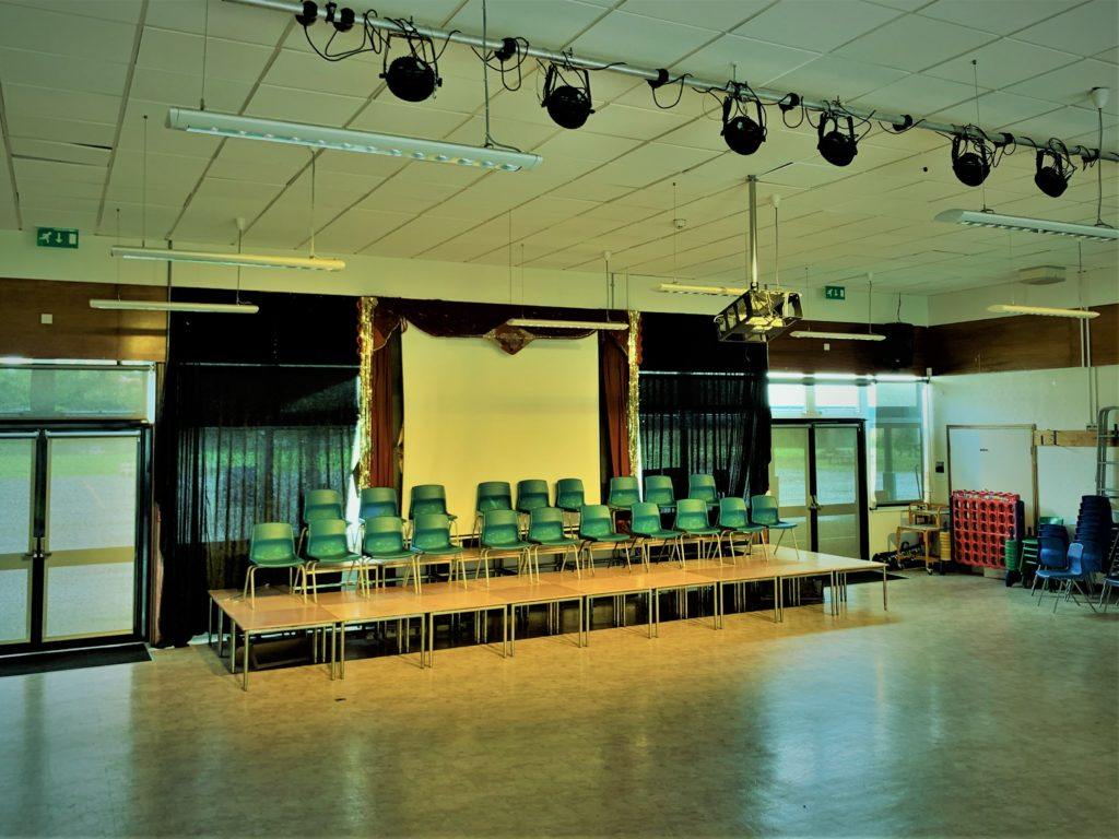 Willows Primary School LED Stage Lighting