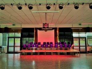 Primary School LED Stage Lighting Installation