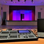 LED Stage Lighting Control Console