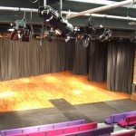 Stage lighting and performance area