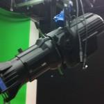 Studio lighting ETC source lustre and green cyslorama